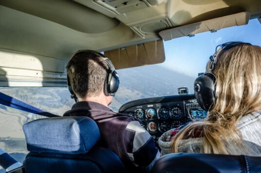 Flight Lesson Over Kansas City