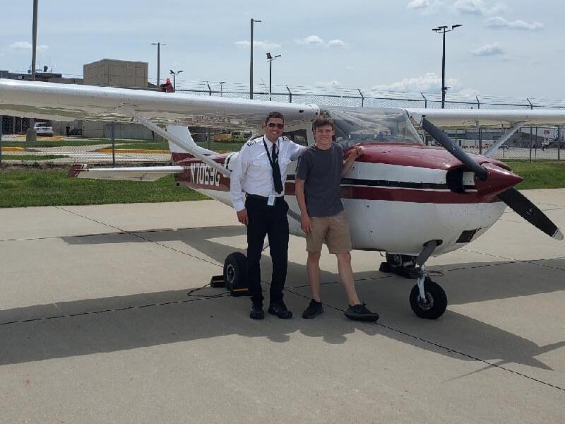 Jack Youngwirth | Private Pilot | KDSM | Instructor: Jason Yasin