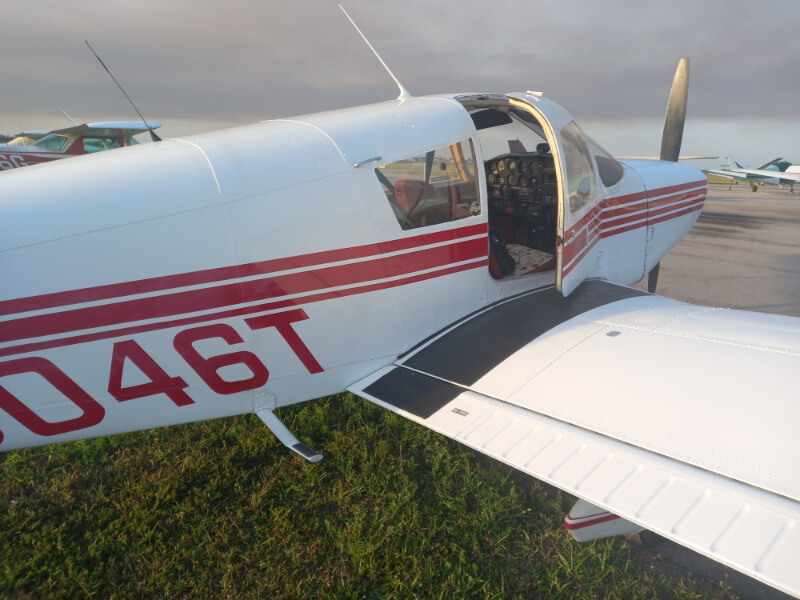 saint paul flight training aircraft 2